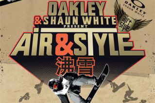 Shaun White and Oakley Teams Up To Revolutionize Snowboarding in China 肖恩怀特和Oakley团队在中国具有革命性意义的滑雪板