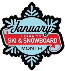 January is Learn to Ski and Snowboard Month