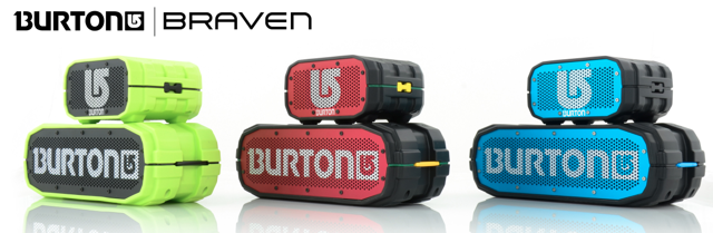 Braven Announces New Bluetooth Speakers with Burton Snowboards