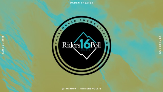 Nominees Announced for Transworld SNOWboarding 16th Annual Riders Poll Awards