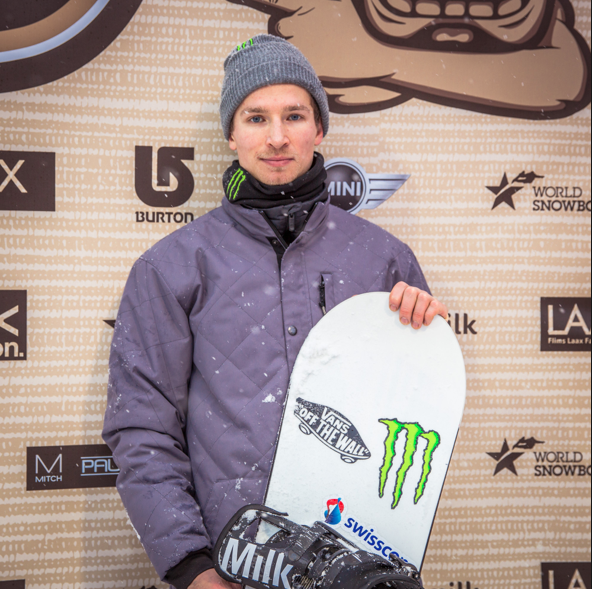 Monster Energy's Louri Podladtchikov Defends His Burton European Open Halfpipe Title