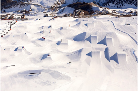 Mottolino Snowpark: Bigger Than Ever