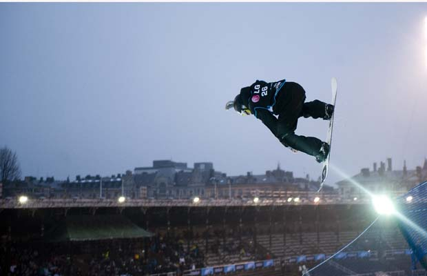 Mark McMorris lands first backside triple cork 1440